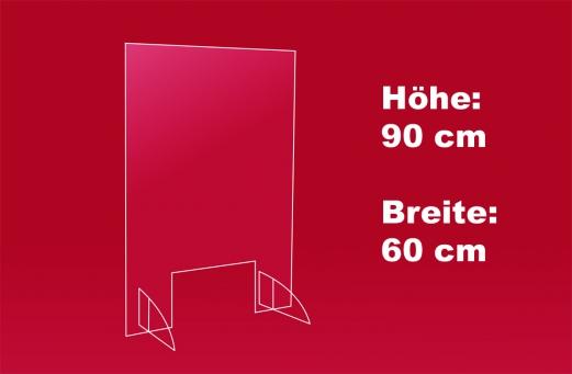 Nies- und Spuckschutz 60 x 90