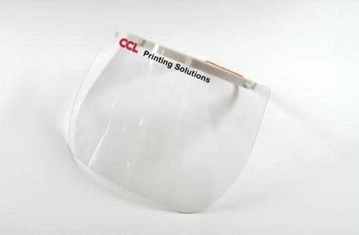 Schutzmaske Plexiglas - individuell