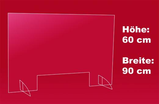 Spuckschutz 90 x 60 cm