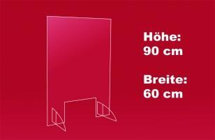 Spuckschutz 60 x 90 cm