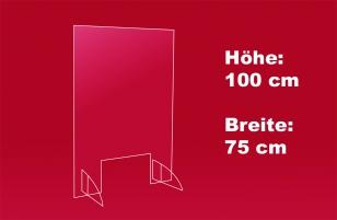 Nies- und Spuckschutz 75 x 100