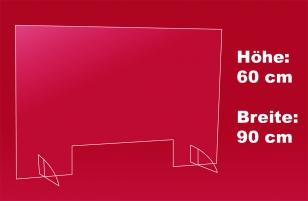 Nies- und Spuckschutz 90 x 60